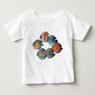 Wild Discus Fish Baby T-Shirt