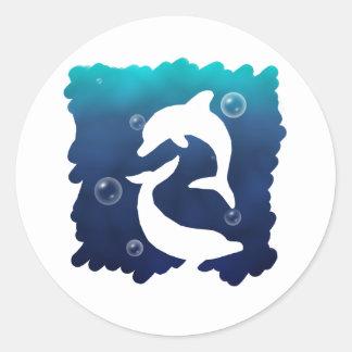 Wild Dolpin Sticker