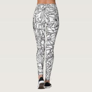 Wild Doodled Leggings 001