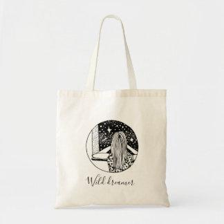 Wild Dreamer Galaxy Budget Tote Bag