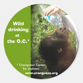 Wild Drinking stickers -version 1