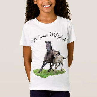 Wild Dulmen Horse Cute Foal - Dülmener Wildpferde T-Shirt