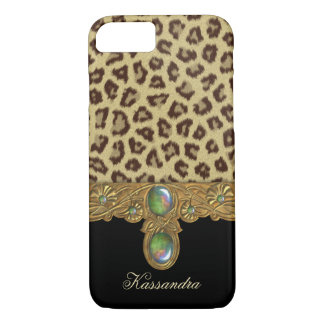 Wild Elegance Leopard iPhone 8/7 Case