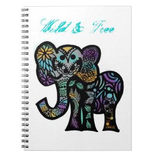 Wild Elephant Notebook