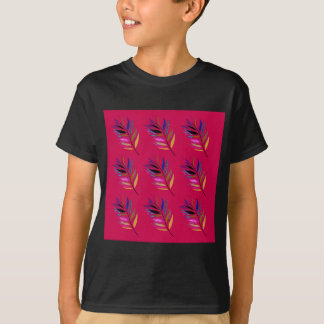 Wild ethno leaves /  feathers textile edition T-Shirt