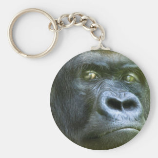 Wild Eyes - Silverback Art Keychain