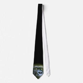 Wild Eyes-Silverback Art Tie