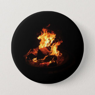Wild Fire 3 Inch Round Button