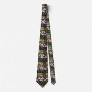 """""""Wild Flower 2"""" Flower Garden Neck Tie"""