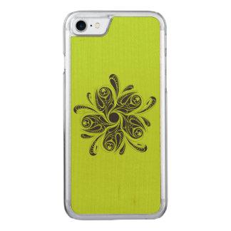 Wild Flower Carved iPhone 7 Case