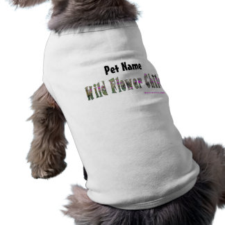 Wild Flower Child Pet Shirt (Customize)