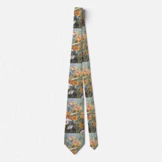 """""""Wild Flower Field"""" Flower Garden Neck Tie"""
