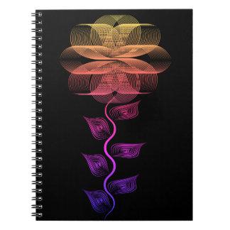 Wild Flower graphic design -Notebook Notebook