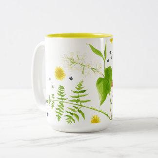 wild flower mug
