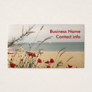 Wild Flowers Business Card