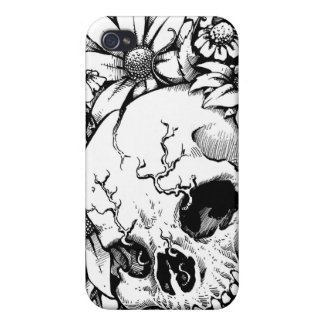 Wild Flowers Case For iPhone 4
