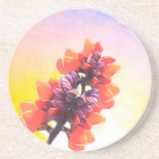Wild flowers coaster