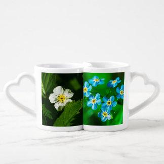 Wild Flowers Coffee Mug Set