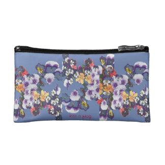 Wild  Flowers Cosmetic Bag