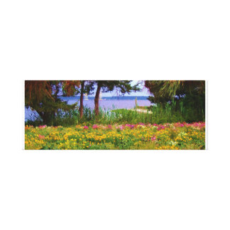 Wild Flowers in North Carolina Canvas Print