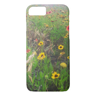 Wild Flowers in the Meadow iPhone 7 Case