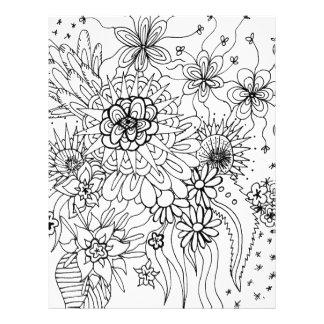 Wild Flowers Letterhead