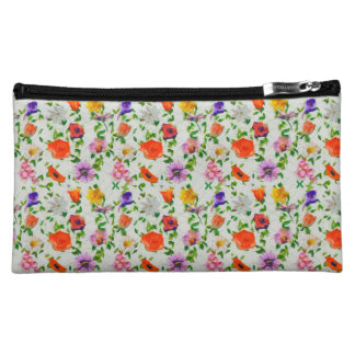 Wild Flowers Makeup Bag