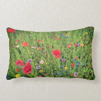 Wild flowers mix Lumbar Pillow