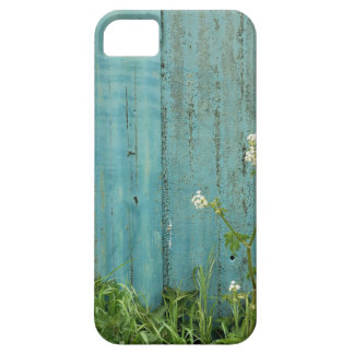 wild flowers nature blue paint fence texture iPhone 5 covers