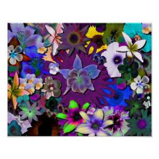 Wild Flowers - smaller Poster