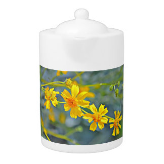 Wild Flowers Tea Pot