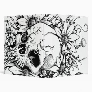 Wild Flowers Vinyl Binder