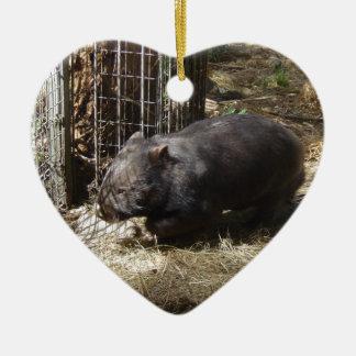 Wild For Wombats Ceramic Ornament