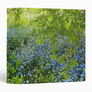 Wild forge me nots flowers photo binder