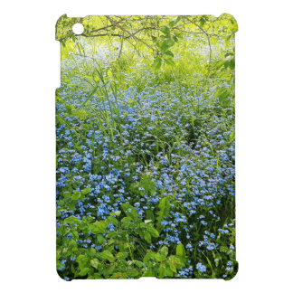 Wild forge me nots flowers photo iPad mini case