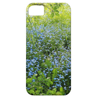 Wild forge me nots flowers photo iPhone 5 case