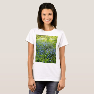 Wild forget me nots flowers photo T-Shirt