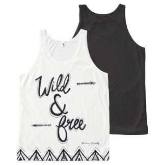Wild & Free All-Over-Print Tank Top