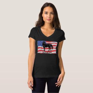 Wild & Free American Wild Horse T-Shirt