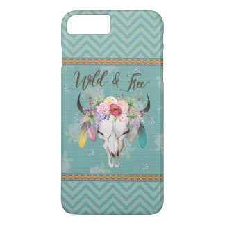 Wild & Free Boho Phone Case (Faded Turquoise)