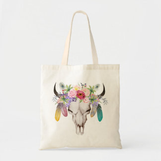 Wild & Free Boho Small Tote Bag