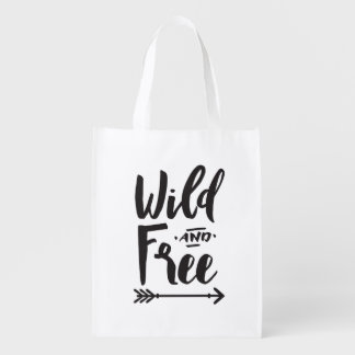 Wild & Free Reusable Bag Market Totes