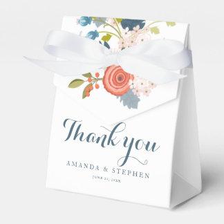 Wild Garden Floral Wedding Favor Box