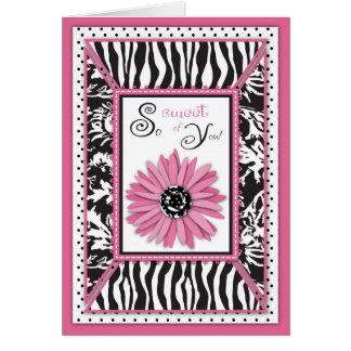 Wild Garden TY Card