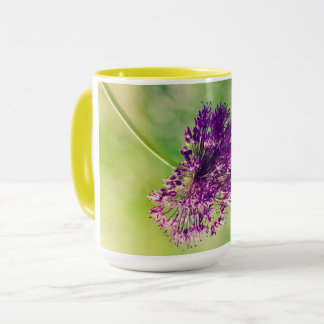 Wild garlic flower mug