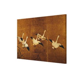 Wild Geese Canvas Print