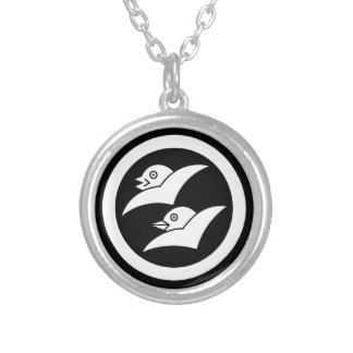 Wild geese for the Masuyama Silver Plated Necklace