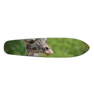 Wild Giraffe Skate Deck