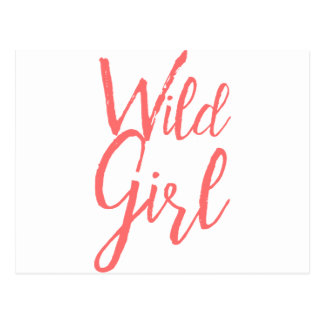 Wild Girl (Feminist Expressions) Postcard
