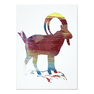 Wild Goat Card